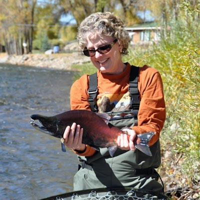 kokanee salmon fishing gunnison river
