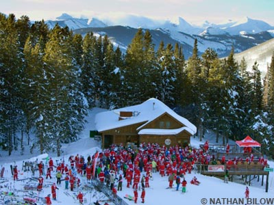uley's cabin, crested butte, santas