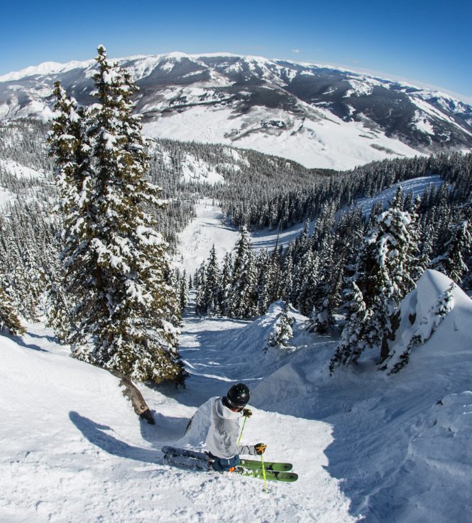 think steep thoughts at crested butte ski vacation