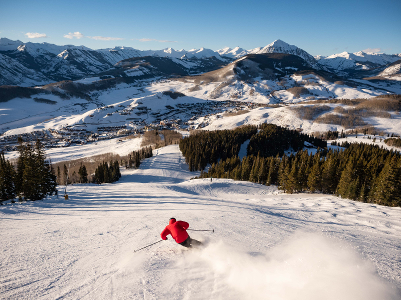 skiing crested butte mountain resort