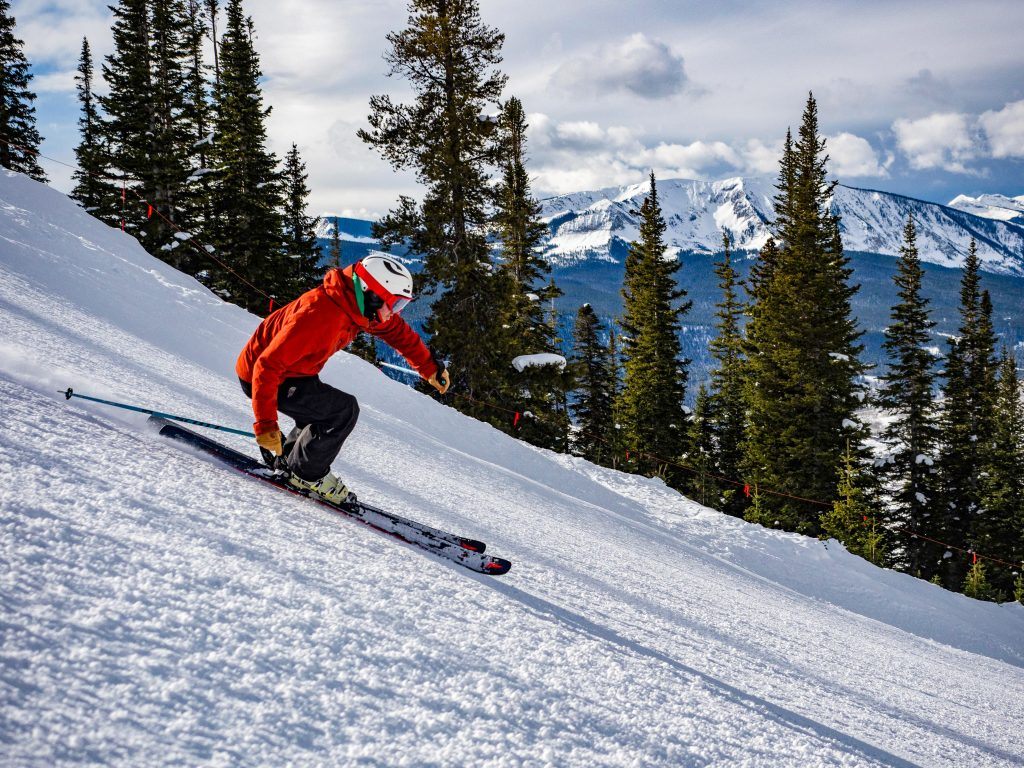 Photo of skier at Crested Butte