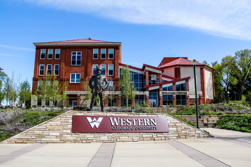 western colorado university campus