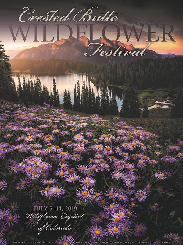 Crested Butte 2019 summer events the CB Wildflower Festival