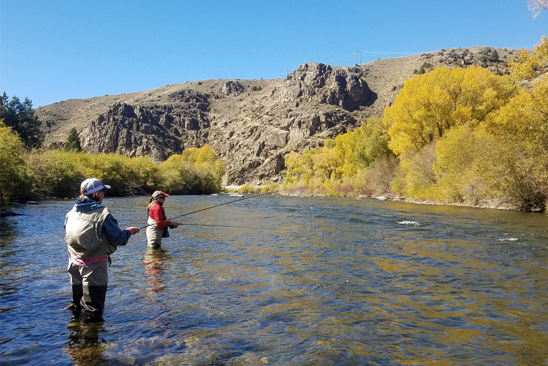 Fly fishing for Kokanee Salmon in Crestred Butte Colorado